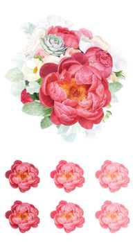 Blossoming Beauties Panel For Northcott Fabrics DP22318 Colour 10