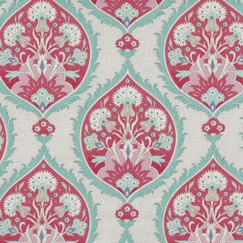 Bon Voyage by Tilda Quilt Collection 100253 Flowerleaf Red