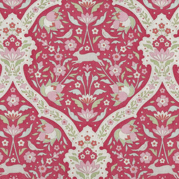 Bon Voyage by Tilda Quilt Collection 100255 Hare Tile Red
