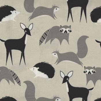 Bramble By Gingiber For Moda Fabrics M48282 14 GreyTaupeBlack