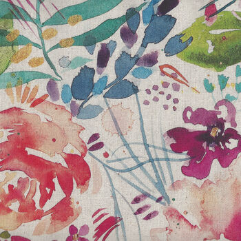 Brightly Blooming 70Cotton30Linen for Moda Fabric MDL8430 11 Natural