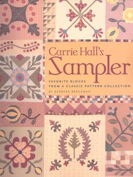 Carrie Halland39s Sampler by Barbara Brackman