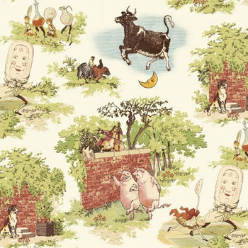 Cat + The Fiddle by Whistler Studios for Windham Fabrics Pattern 51093 X