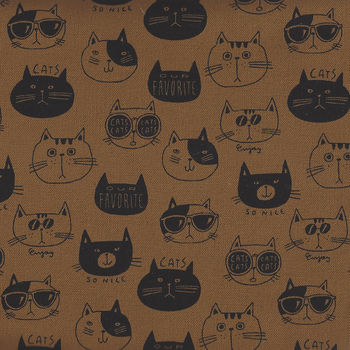 Cats By KOKKA CottonLinen PA44700 702C14