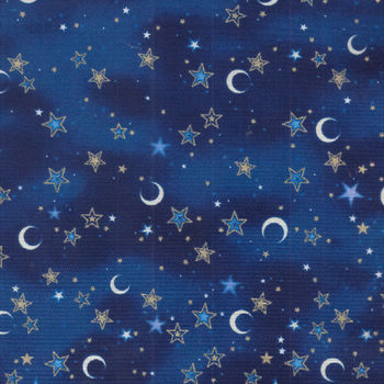 Celestial Sol Cotton Fabric for Quilting Treasures 164924383B