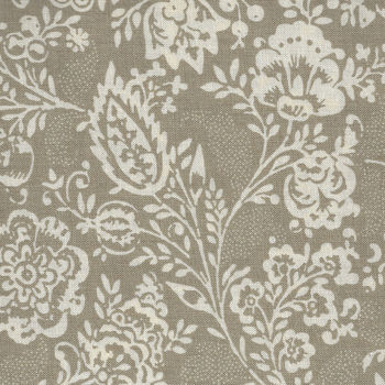 Chafarcani By French General For Moda Fabrics M1385018 DeepTaupeCream