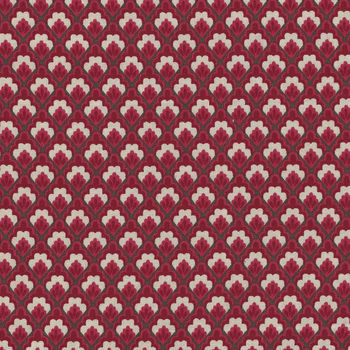 Chafarcani By French General For Moda Fabrics M1385111 RedCream