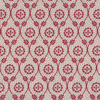 Chafarcani By French General For Moda Fabrics M1385212 CreamRed