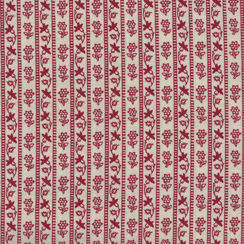 Chafarcani By French General For Moda Fabrics M1385413  Lighter RedCream