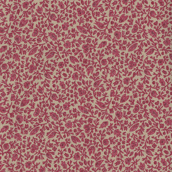 Chafarcani By French General For Moda Fabrics M1385518 RedCreamPink