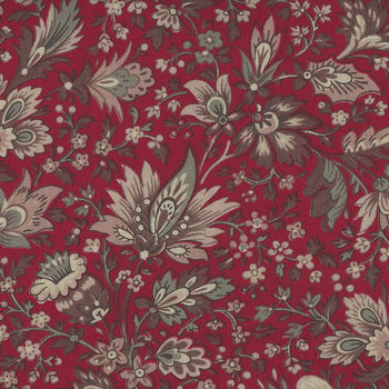 Chafarcani By French General For Moda Fabrics M1386011 RedTaupe