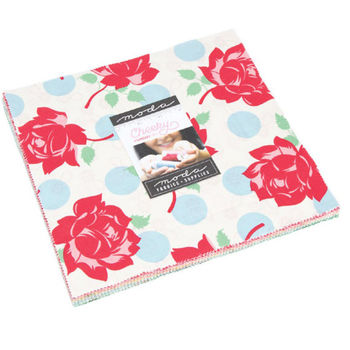 Cheeky Layer Cake Precut 42 10inch Squares by Urban Chiks for Moda 31140LC