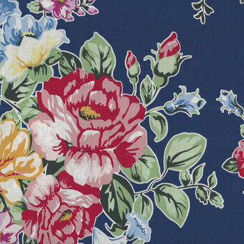 Cherry Lemonade By Jason Yenter for In The Beginning 1CL1 Navy Fifties Print