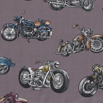 Classic Ride From Nutex Fabrics 8900 Col1 Vintage Motorbike