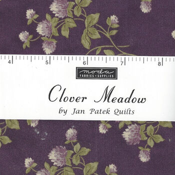 Clover Meadow Precut Mini Charm Pack 42 x 25Squares Jan Patek For Moda  52106 50774