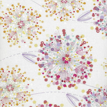 Confetti Blossoms from Quilting Treasures 164926234Z White