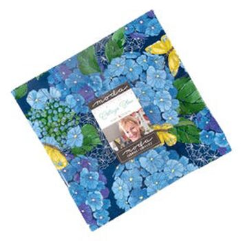 Cottage Bleu Layer Cake by Robin Pickens for Moda  42 x 10 Precut Squares 48690LC