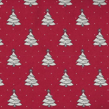 Country Christmas By Bunny Hill Designs For Moda Fabrics M2961 14 Red