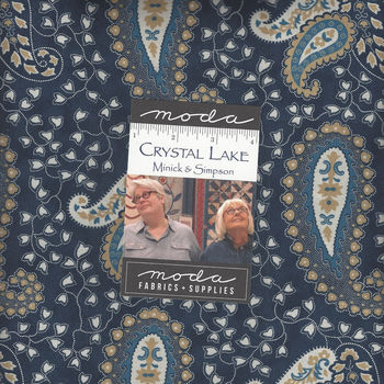 Crystal Lake Layer Cake 10 Squares x 42 from Moda by Minick and Simpson 14870LC