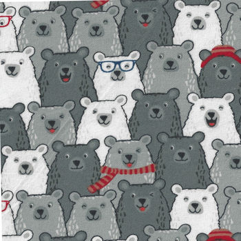 Cubby Bear Flannel by Whistler Studios 513707 Polar Bears