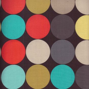 DISCO DOT COTTON FABRIC BY M HORDYSZYNSKI FOR MICHAEL MILLER