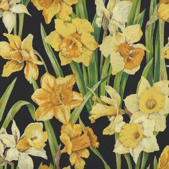 Daffodil Blossoms by Nutex 89420 Colour 2