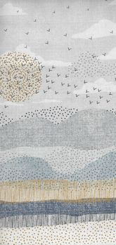 Dashwood Studio Birdsong Fabric Bird 1227 Multi