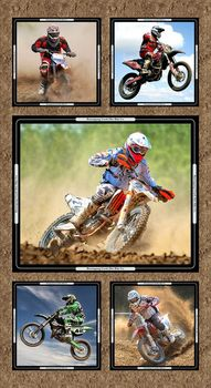 Dirt Bikes from Burrangong Creek + Kennard+Kennard Digital Panel 7091A