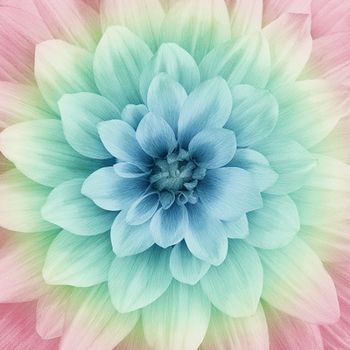 Dream Big Digital Fabric Panel By Hoffman P4389 448 Blossom Size 44 X 44