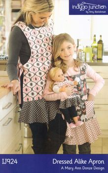 Dressed Alike Apron Pattern from Indygo Junction