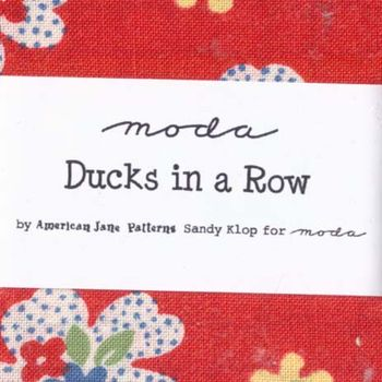 Ducks in a Row Sandy Klop for Moda