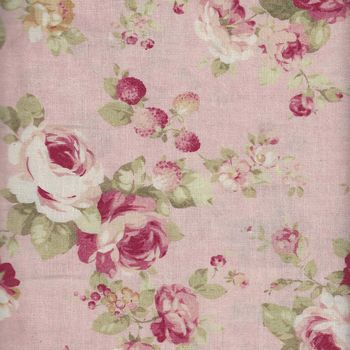 Durham Quilt Collection by Lecien 31464 Colour 20 Pink Roses