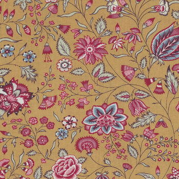 Dutch Heritage Surat By Petra Prins and Nelkooiman DHER 1025  Mustard