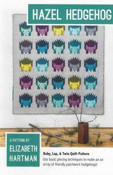 Elizabeth Hartman Hazel Hedgehog Quilt Pattern