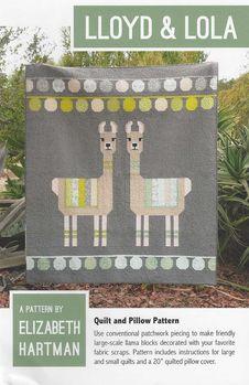 Elizabeth Hartman Lloyd and Lola Alpaca Quilt Pattern