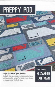 Elizabeth Hartman Peppy Pod Whale Quilt Pattern