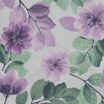 Essence Of Pearl by Maria Kalinowski For Kanvas Fabrics Pattern Tree Blossoms CP8726