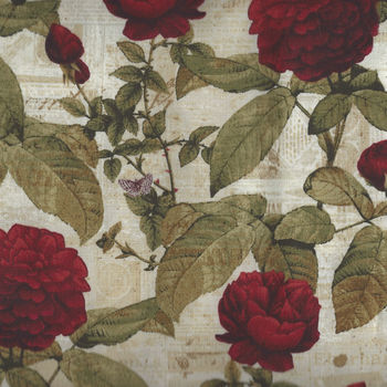 Everlasting Rose by Iron Orchid Designs for Clothworks Y256157 Colour 6