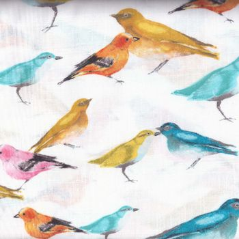 FLUTTER COTTON FABRIC BY LAURA GUNN FOR MICHAEL MILLER