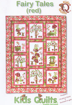 Fairy Tales Red by Kids Quilts QLT033
