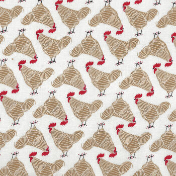 Farm Charm from Gingiber for Moda Fabric Cotton Quilting M4829221 Chickens