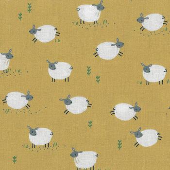 Farm Days by Kate Jones For Dashwood Studio Fabric Farm 1802 col1 Sheep
