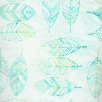 Fern Textiles Batik Code 314Q7 AquaLime