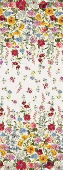 Field Of Dreams from Benartex Wild Flower Border CM8932 White