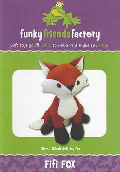 Fifi Fox Toy by Funky Friends Factory