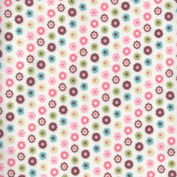 Flannel Fabric andquotBlossomandquot by Northcott