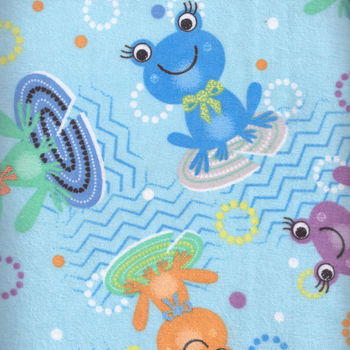 Flannel Frogs by Andover Fabrics 1082681