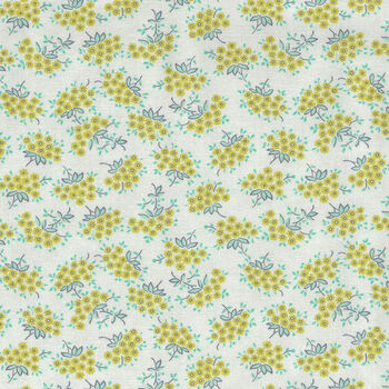 Flour Garden by Linzee McCray for Moda Fabrics M23327 21 Lemon