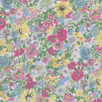 Flower Show Spring by Liberty Cotton  Malvern Meadow5726A Normal cotton 44