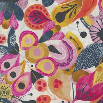 Free Spirit Floral Waterfall PWSN004 Popular Colour Pink